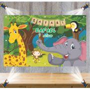 Painel de Festa Safari- Mod 1