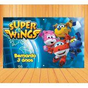 Painel de Festa Super Wings- Mod 2