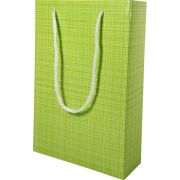 Sacola Presente - 8 Unid - Verde Pistache Xadrez