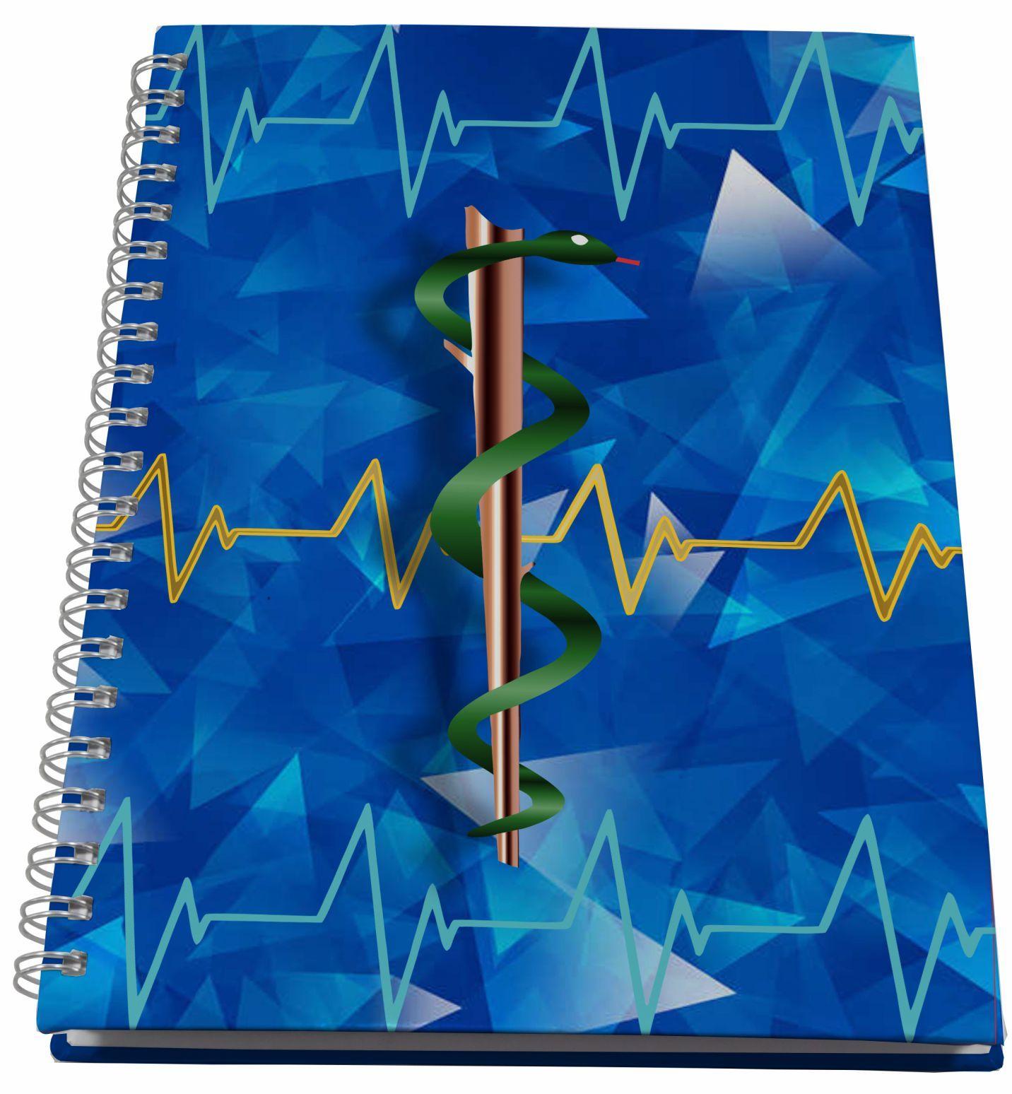 Caderno Universitário Personalizado Profissões