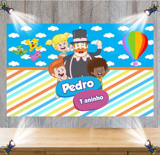 Painel de Festa Mundo Bita - Mod 5