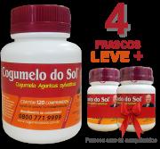 Cogumelo do Sol®  Agaricus sylvaticus - 04 FRASCOS Granhe 2 Frascos com 60 comprimidos