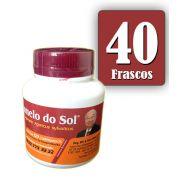 Cogumelo do Sol®  Agaricus sylvaticus - 40 FRASCOS