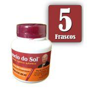 Cogumelo do Sol®  Agaricus sylvaticus - 05 FRASCOS