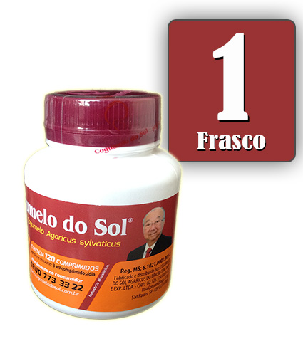 Cogumelo do Sol®  Agaricus sylvaticus - 01 Frasco