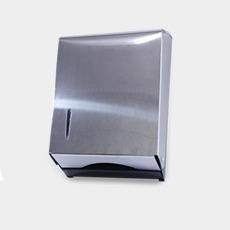 Dispenser Toalheiro Americano Jr. P/ Interf. 3 Dobras 20x27 Inox  - Wtech vendas e Assistência técnica