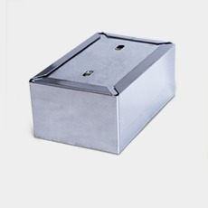 Porta Guardanapo Deitado (mesa) Em Aço Inox