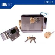 Trava Elétrica Fechadura Portão Eletrônico LFE-112 Luatek