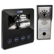 Video Porteiro Eletrônico Interfone 4.3 Touch Visão Noturna Luatek