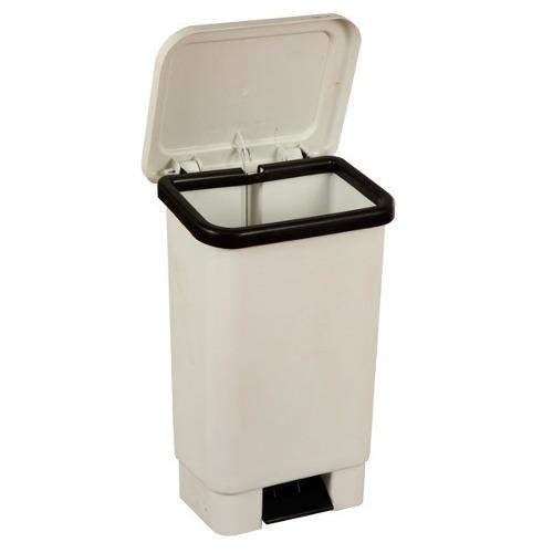 Lixeira Plastica Retangular Com Pedal 50 Litros  - Wtech vendas e Assistência técnica