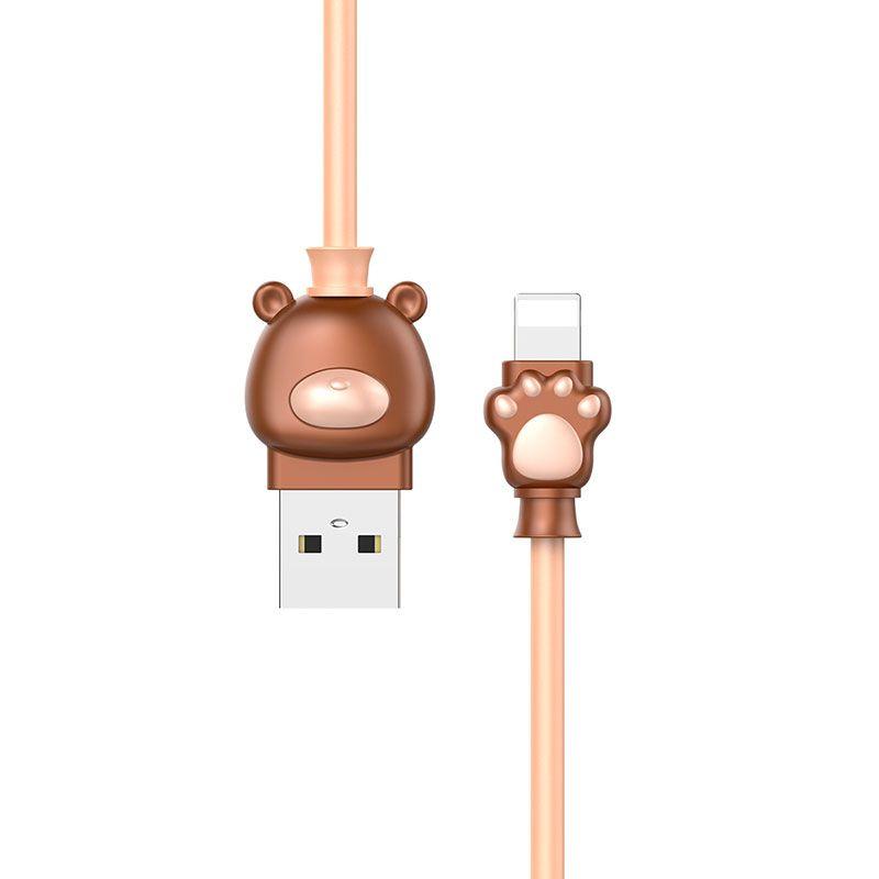 Cabo USB Iphone lightning Bear Baseus