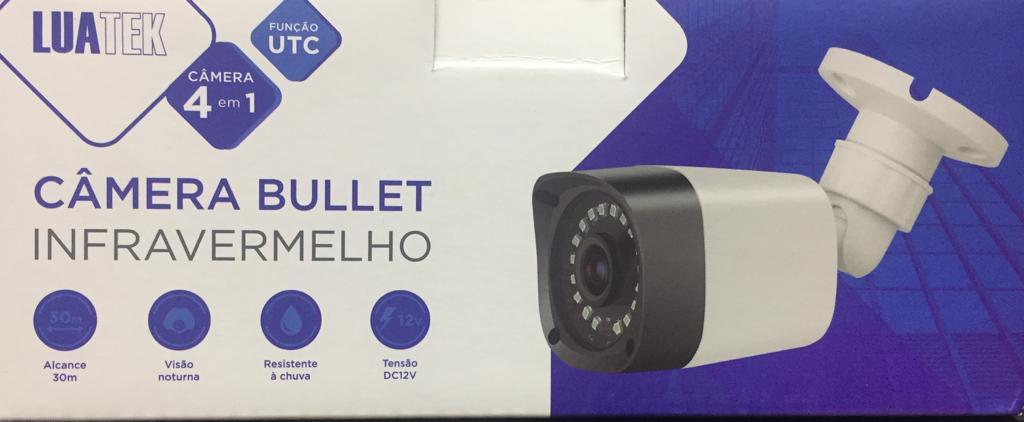 Câmera Full Hd 1080p infra 30 Metros Luatek LCM-2120B