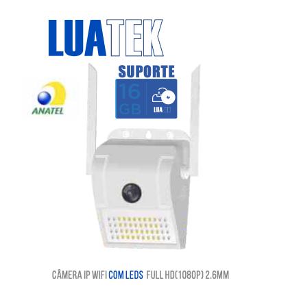 Camera Ip Wifi externa Infravermelho 2.6mm 2.0mp Full Hd