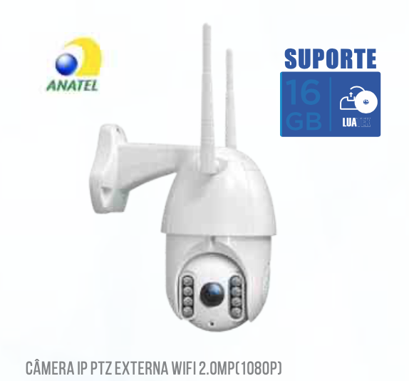 Câmera Mini Speed Dome Hd 1080p LKW4220VN Luatek