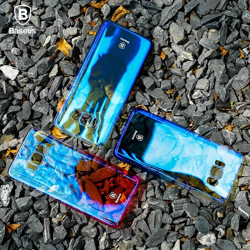 Capa Galaxy S8 Plus Glaz Ultra-Slin degrade Baseus