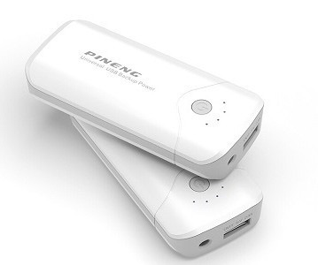 Carregador Bateria Portátil Celular 5000 Mah Original Pineng
