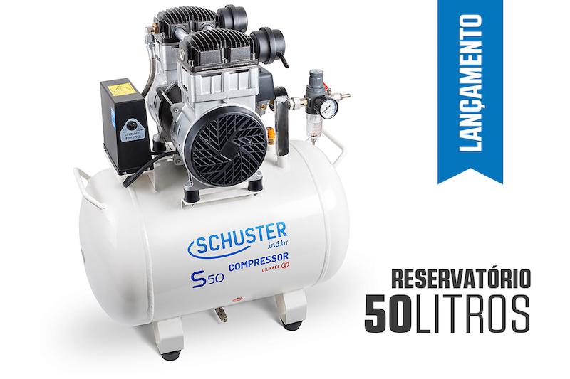 Compressor Odontologico S50 G2 Schuster  - Wtech vendas e Assistência técnica