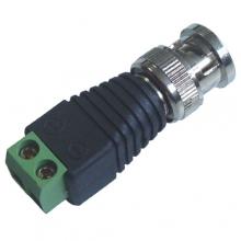 Conector BNC Macho de Borne 100 Un. CFTV