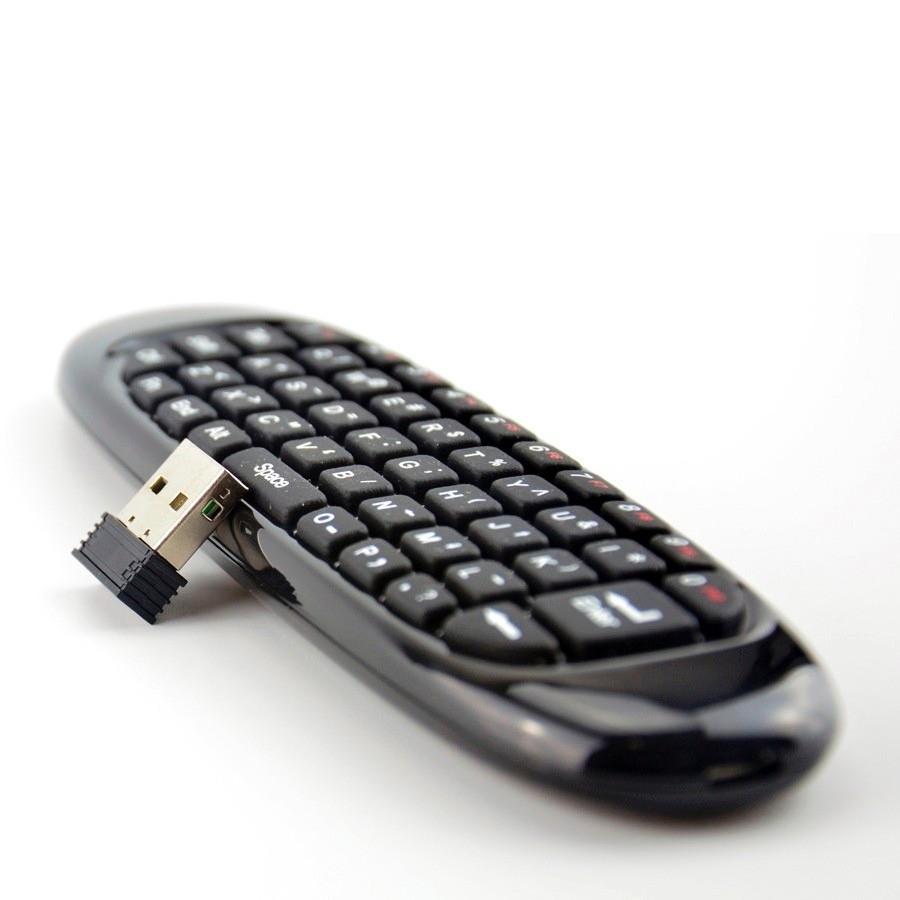 Controle Air Mouse Teclado Wireless C120 Pc Smart Tv Box  - Wtech vendas e Assistência técnica