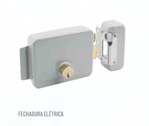 Fechadura Trava Portas E Portões Elétrica / Eletrônica 12v Luatek