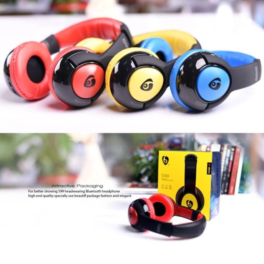 Fone De Ouvido Headphone Bluetooth Ovleng S99 Micro Sd Fm