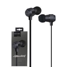 Fone de ouvido Mofan Metal Shell Original Com Microfone  - Wtech vendas e Assistência técnica