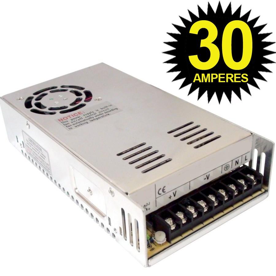 Fonte Chaveada 12V 30A 360W Luatek  - Wtech vendas e Assistência técnica