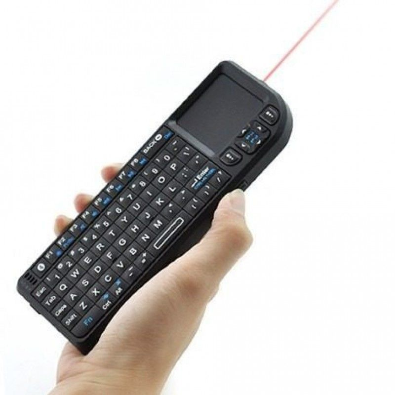 Mini Teclado com Touch Pad Mouse Bluetooth Sem Fio Knup