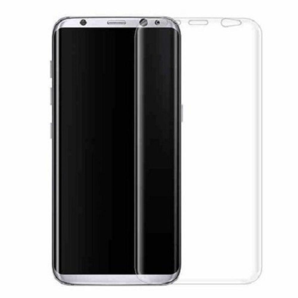Película Gel Galaxy S8 Transparente Cobre a Tela Toda Curva  - Wtech vendas e Assistência técnica