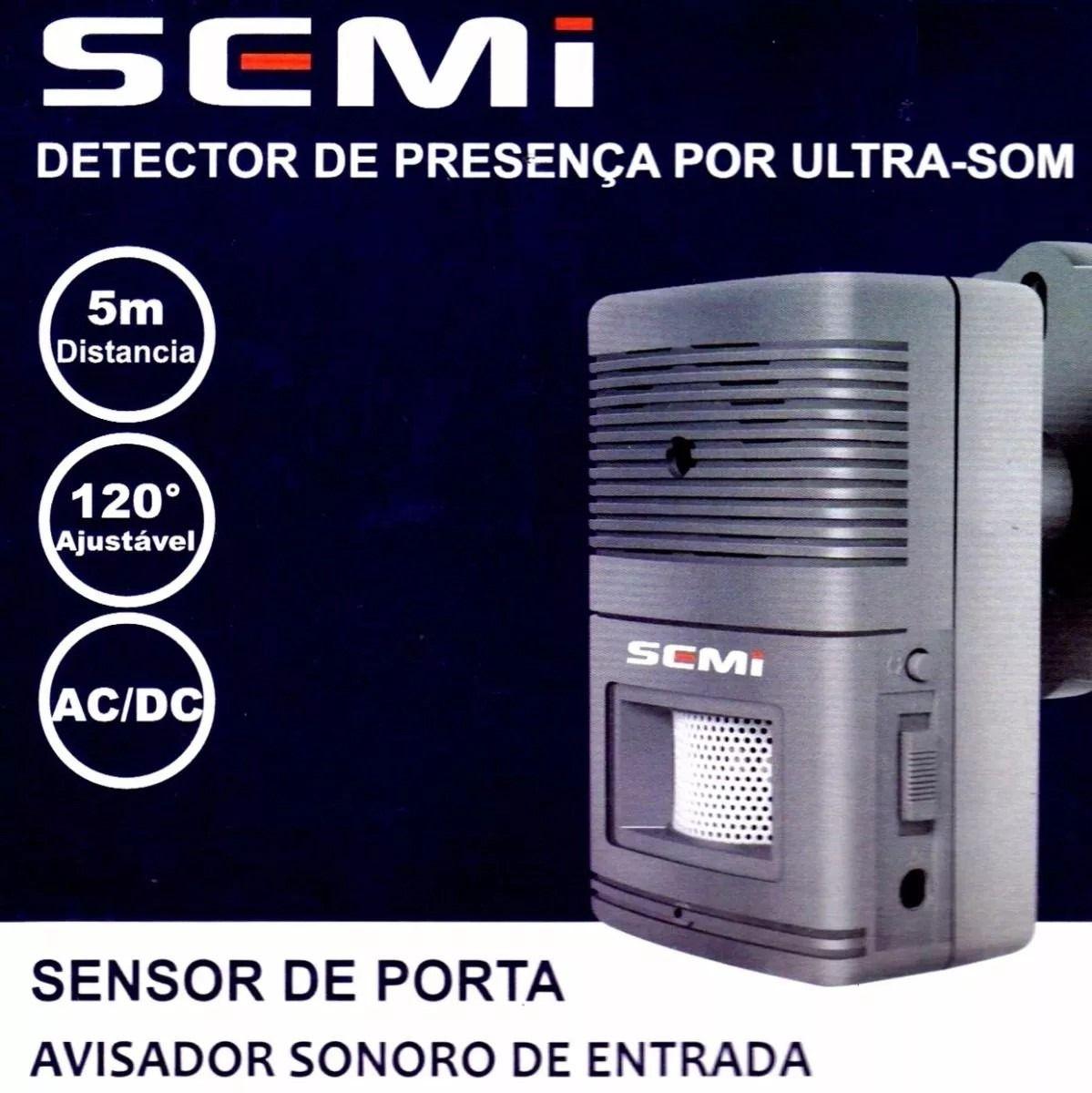 Sensor De Presença Anunciador Sonoro Ajustável Campainha  - Wtech vendas e Assistência técnica