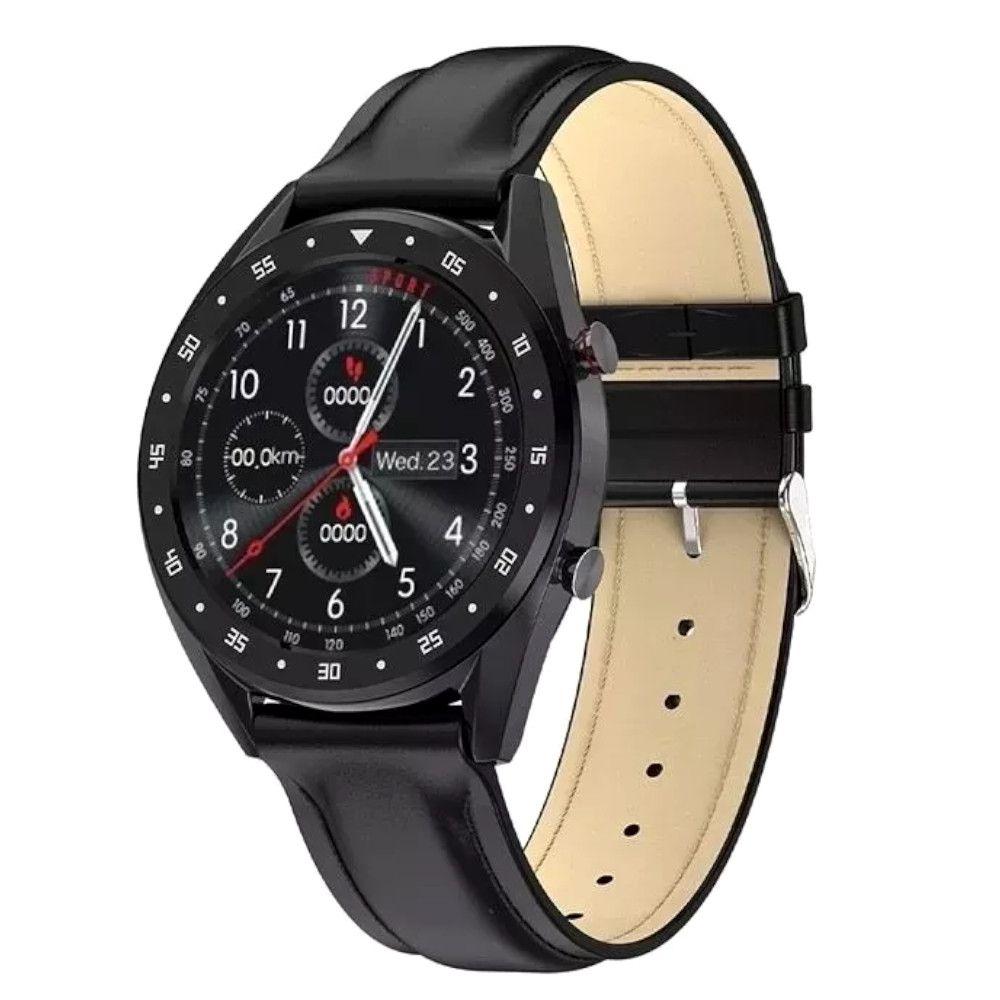 Smartwatch MTR-30 Para IOS e Android Resistente a Água Multifunções