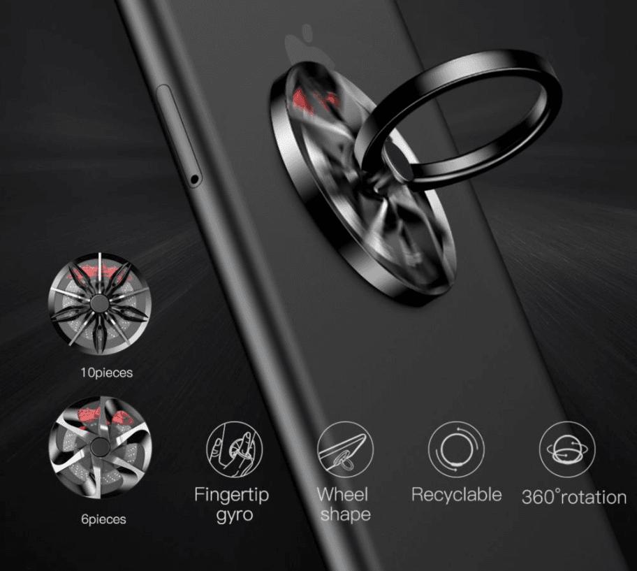 SUPORTE CELULAR Car Wheel Finger Ring Holder BASEUS