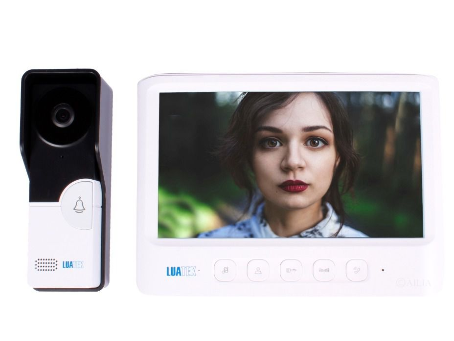 Vídeo Porteiro Câmera Visão Noturna Eletrônico Interfone Luatek LKM-1103  - Wtech vendas e Assistência técnica