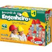 Brincando De Engenheiro I - 42 Peças Xalingo 52754