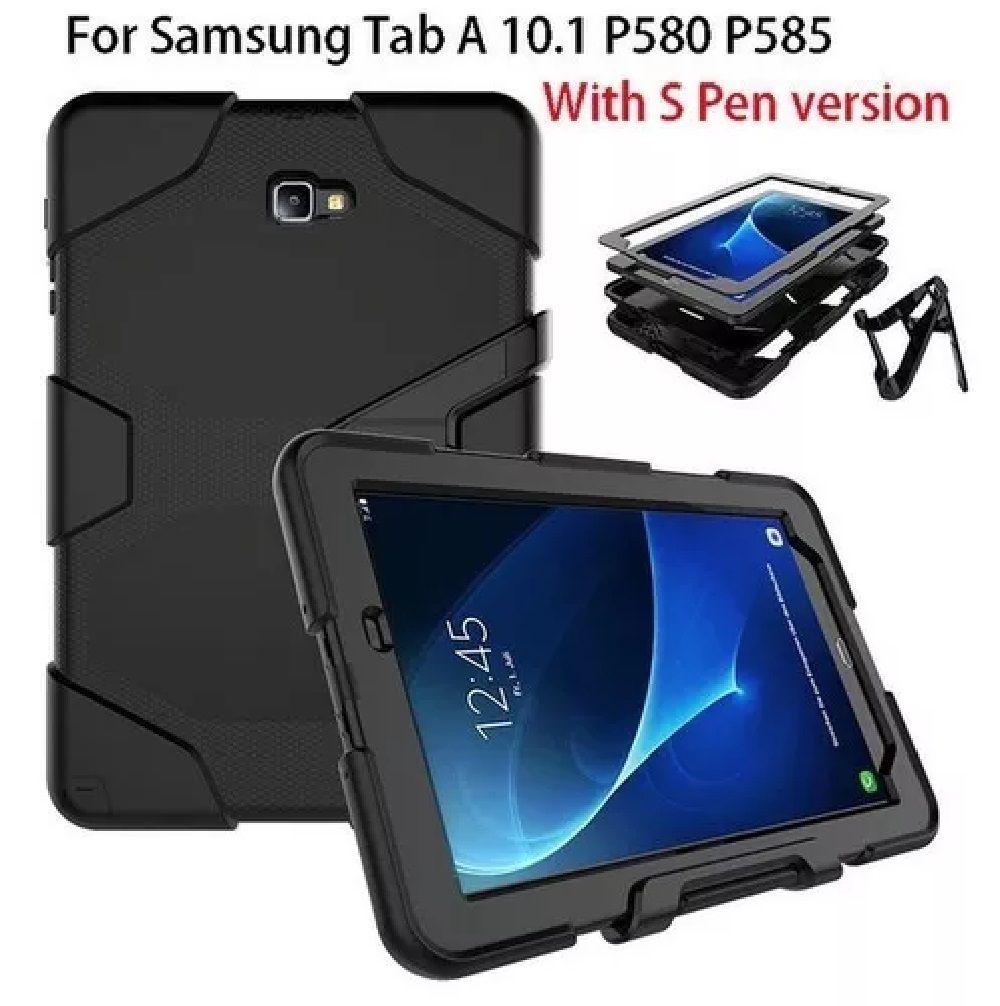 73391582d Capa Survivor Anti-shock Samsung Galaxy Tab A 10.1 P585 P580 - Supermania