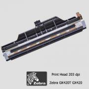 Cabeça de Impressão Zebra GX 420T  e GK 420T (203dpi - 4