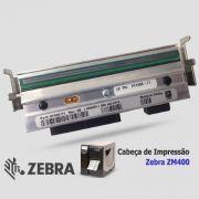 Cabeça de Impressão Zebra ZM 400 (300dpi - 4.09