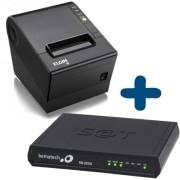 Kit SAT Fiscal - SAT Bematech RB 2000 FI + Impressora não Fiscal Elgin i9