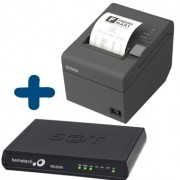 Kit SAT Fiscal - SAT Bematech RB 2000 FI + Impressora não Fiscal Epson TM-T20