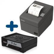 Kit SAT Fiscal - SAT Dimep D Sat + Impressora não Fiscal Epson TM-T20