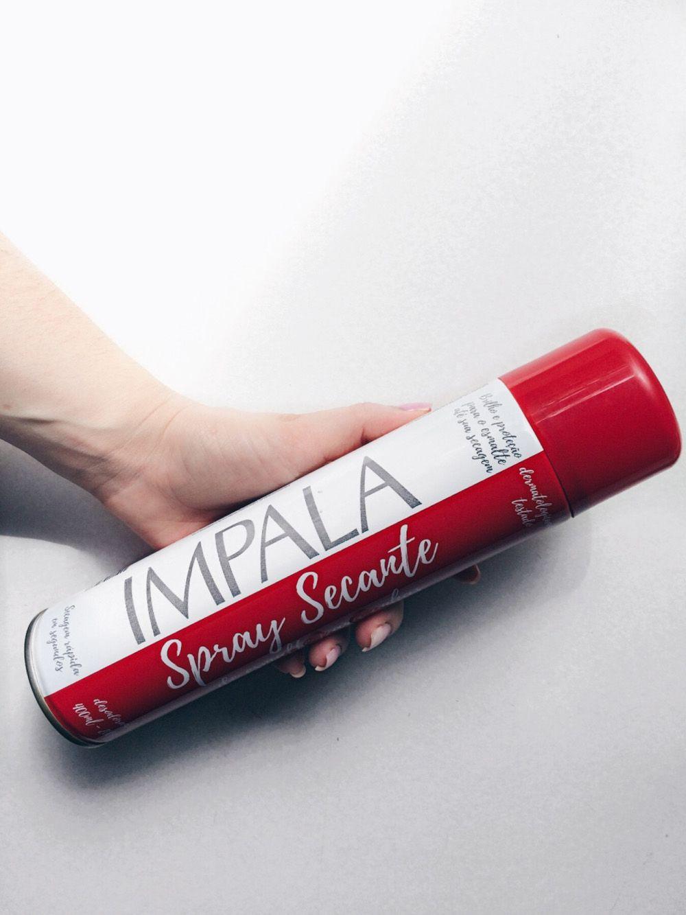 12 Unidades de Spray Secante de unhas Impala