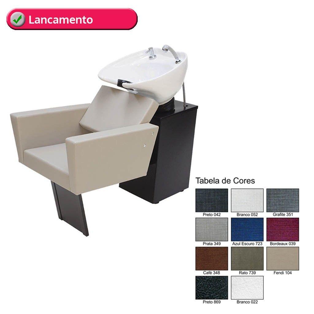 Cadeira Fixa + Cadeira Reclinável + Lavatório Flex Niágara