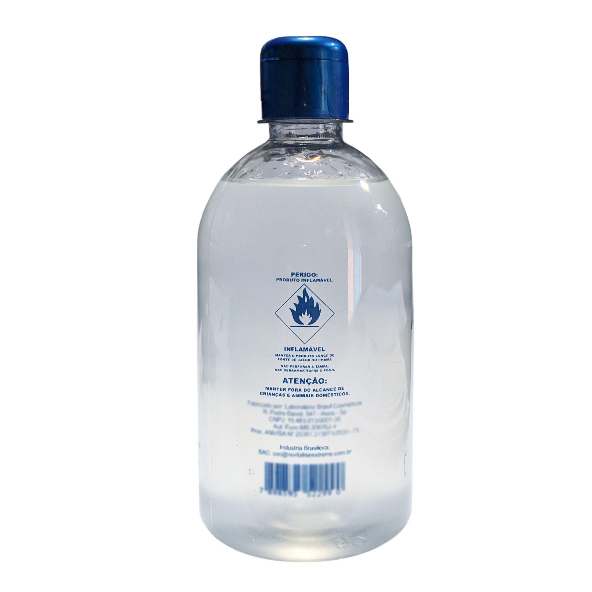 Álcool em Gel 70% Higienizador de Mãos - ALLGEX 440g