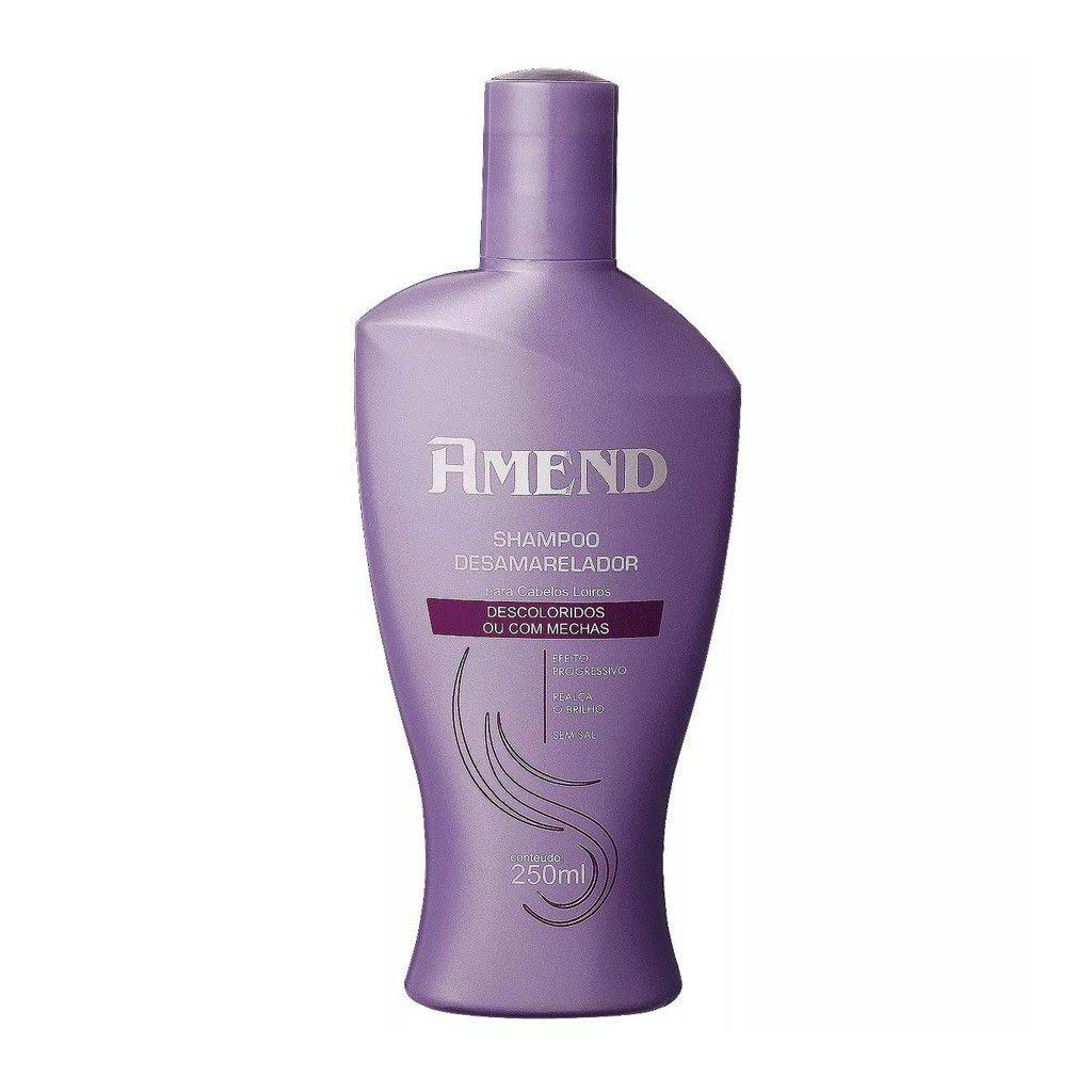 Amend Shampoo Desamarelador Cabelos Descol. 250ml