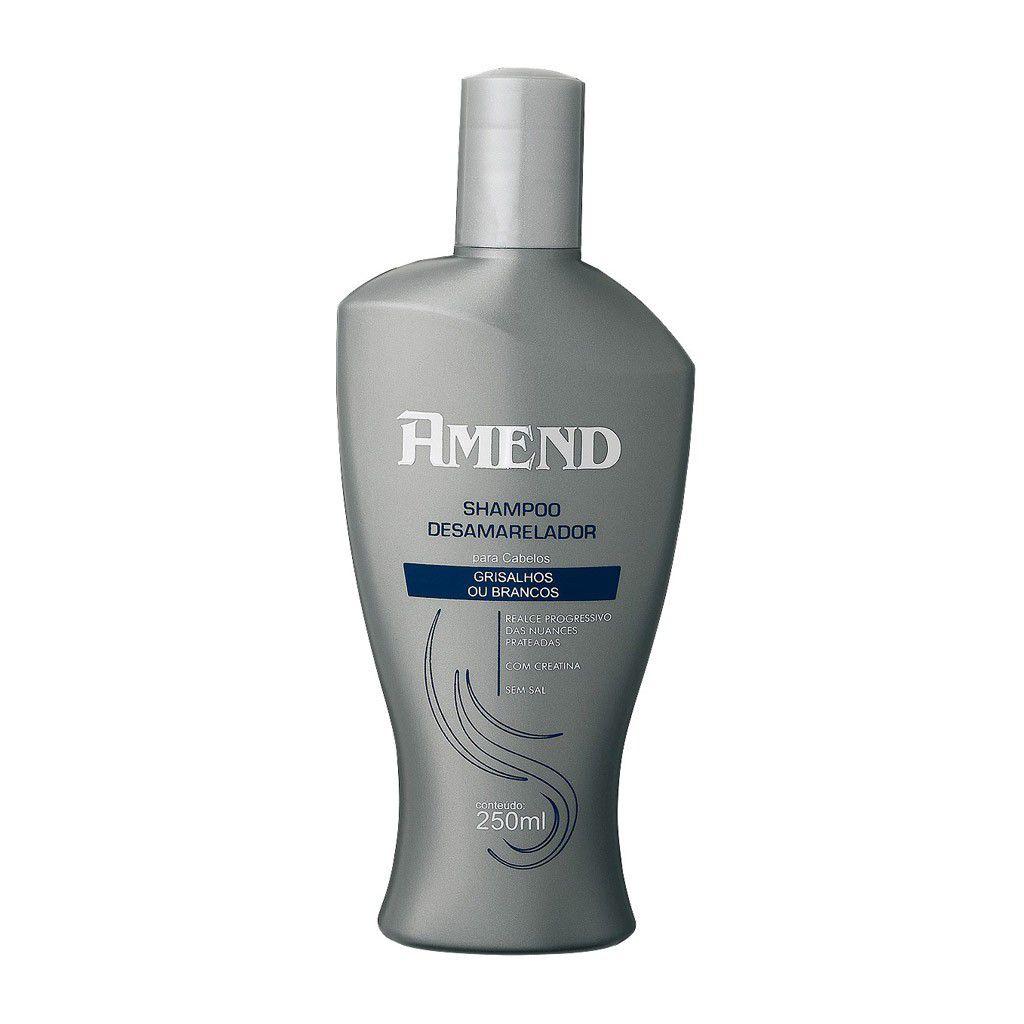 Amend Shampoo Desamarelador - Cabelos Grisalhos - 250ml