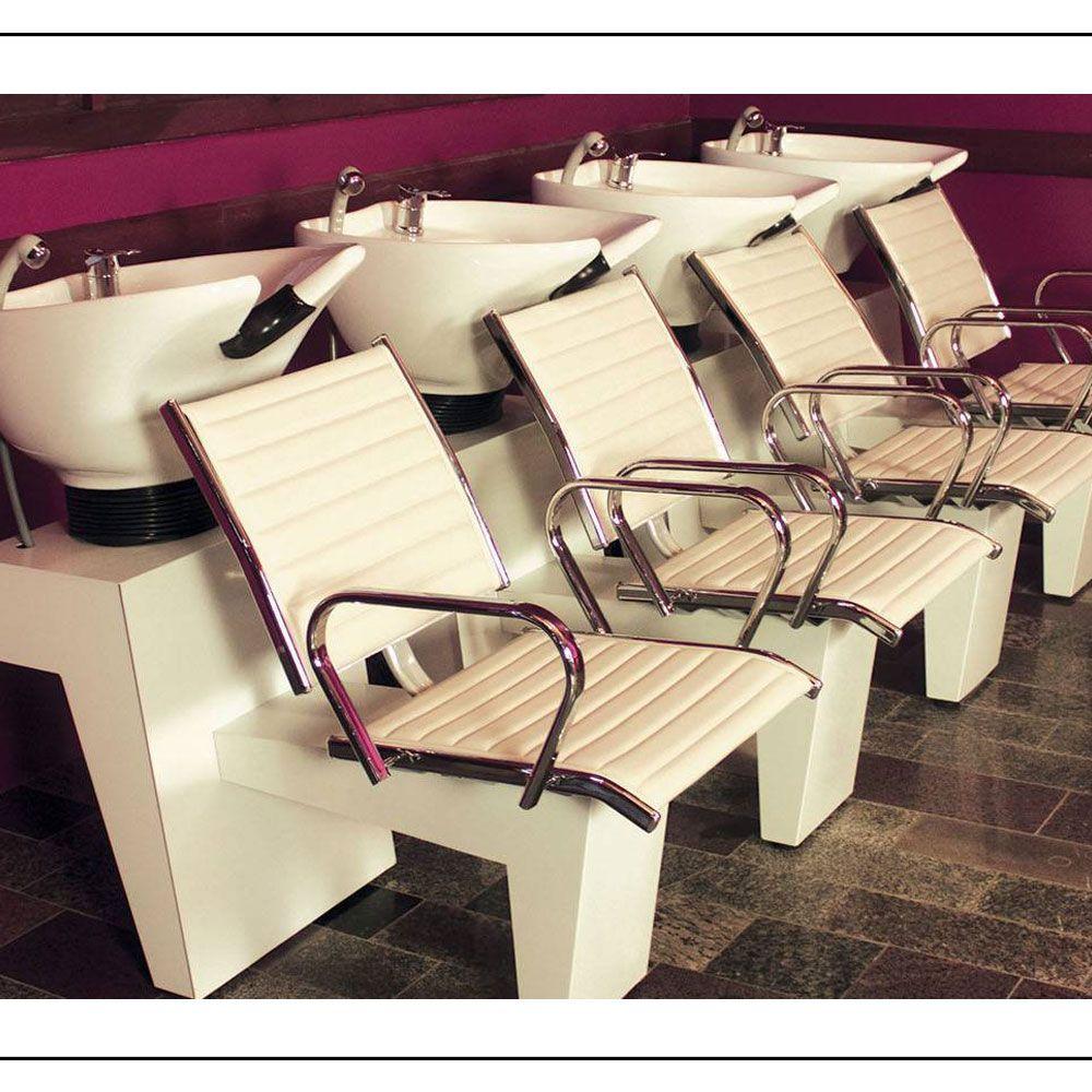 Cadeira Atenas Reclinável + Lavatório Atenas - Kixiki