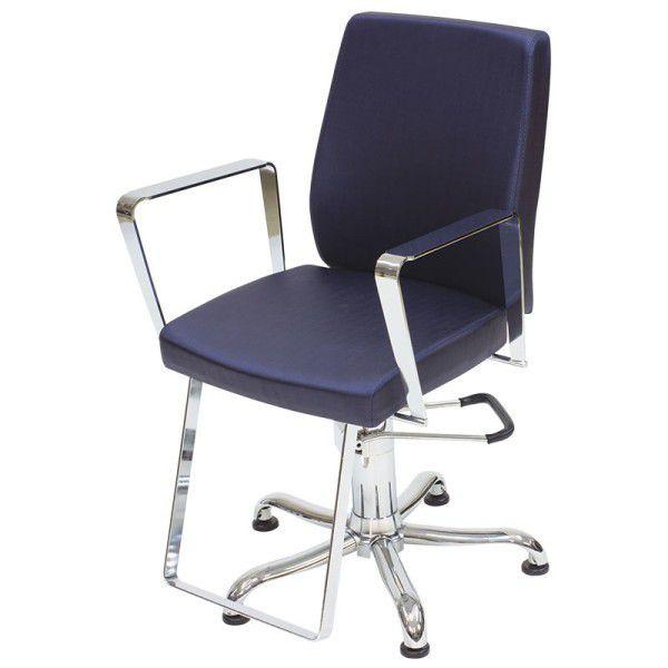 Cadeira Para Salão Croma - Encosto Fixo - Kixiki