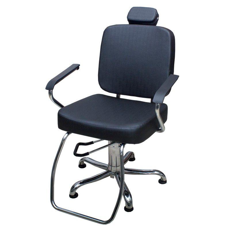 Cadeira Para Salão Toronto - Encosto Reclinável - Kixiki
