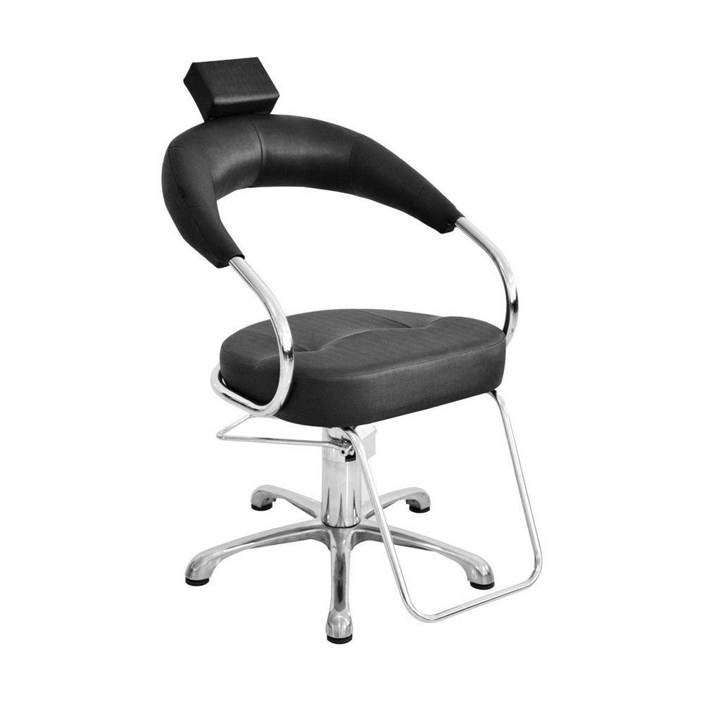 Cadeira Poltrona Hidráulica Futurama - Base Alumínio