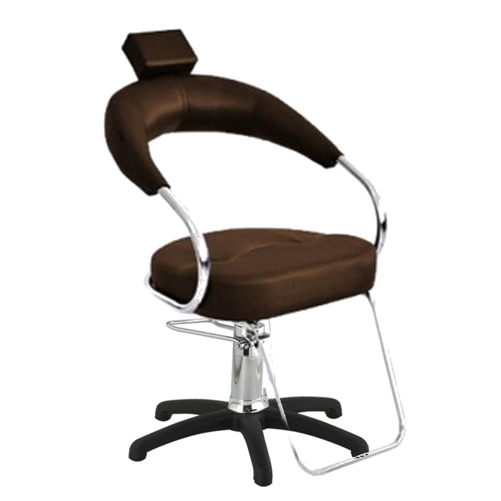Cadeira Poltrona Hidraulica Futurama Cafe Base Nylon